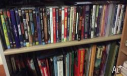Large collection of railway and other DVDS For Sale.