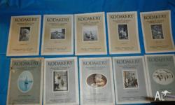 These 10 booklets are part of my mother's deceased