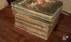 25 Walt Disney books up for sale very collectable and