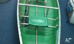 This colman Scanoe is a family canoe where you can load