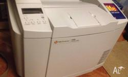 Quiet operation and low running costs. Toner included,