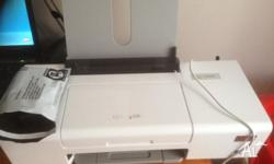 Lexmark colour printer. Needs new cartidges. Wifi so it