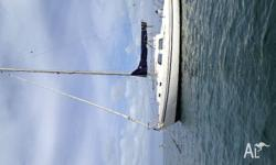 1975 columbia 27 currently moored in sandringham and