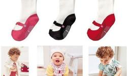 Each pair of socks looks like your baby is wearing
