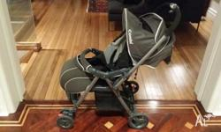 As new combi pram - suitable for newborn up to 12