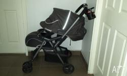 Selling here is a combi urban walker stroller. Have