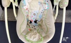 Comfort & Harmony by Bright Starts Portable Swing RRP $