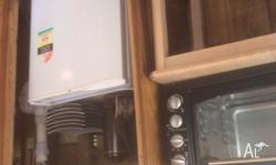 I have a 17ft caravan for sale new timber floors very
