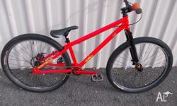 COMMENCAL MAX MAX 26 INCH DIRT JUMPER HARD TAIL. BIKE