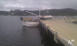 $140000 SWAP SMALLER COMMERCIAL VESSEL EVEN A TRAILABLE