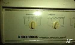 Kleenmaid washing machine . Perfect works great I have
