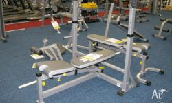 Calibre Fitness commercial weight bench cost $999 plus