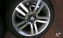 Set of 4 ss rims in very good condition they have been