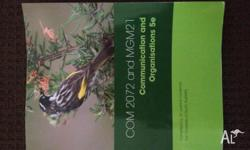 UniSA textbook for Communication and Organisational