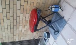 Compact gass grill/bbq available now for pick up.