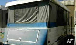 COMPASS CAMPER TRAILER, 2000, WHITE, Camper Trailer,