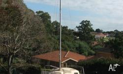 Compass Careel 18' Mk1 Trailer Sailer. Fair to good