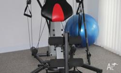 Bowflex Gym as seen on TV. 36 different exercises