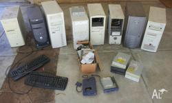 I have a collection of old computers some complete