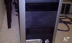 Computer for sale, tested and working. Has scratches on