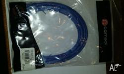 Comsol RJ45 Cat 6 Patch Cable - Blue 2m Ideal for high