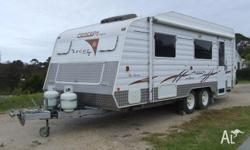Stable easy towing this Concept Ascot is fitted with a