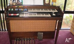 This lovely electric organ was purchased from a garage