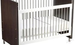 Great cot and toddler bed combination including