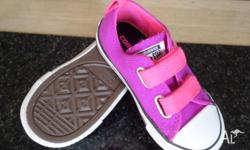 Converse - Toddler Size 8 - Brand New Hot Pink/ Purple
