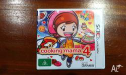 Cooking Mama 4. Only for 3DS!! In great condition.