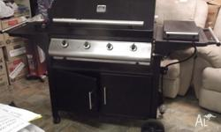 THIS 4 BURNER GAS BBQ WAS KINDLY DONATED TO UPPER ROOM
