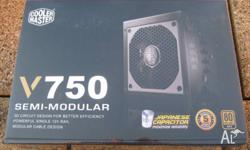 Brand new sealed Cooler Master V750 power supply. High