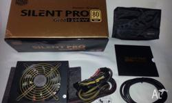 Coolermaster Silent Pro 1200W 80+ Psu has been opened