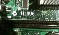 the motherboard can take up to 8gb of ddr3 1333mhz and
