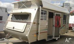 COROMAL SEKA 505, 2001, Pop Top, roll out awning plus