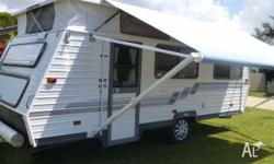 Immaculate condition. Rear single beds Brand new three