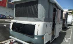 COROMAL SILHOUETTE 453/4 15ft x 7ft, 2004, CAMPER