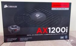 Corsair AX-1200i Power Supply Unit Brand new, still in