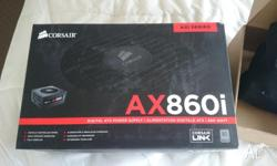 Corsair AX860i Power Supply + the supporting Corsair