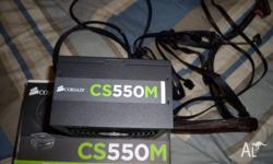 Selling a Corsair CS 550 semi-modular power supply,