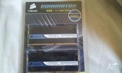Corsair Dominator DDR2 RAM 1066MHz 2 x 2GB Sticks