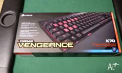 This is a brand new and unopened Cherry MX Blue with