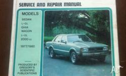 Gregory's manual for TE Cortina 1977/80. Good