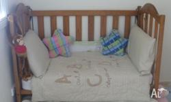 For sale: Cot (Cabin Crib No 10 Settler) for $50 and/or