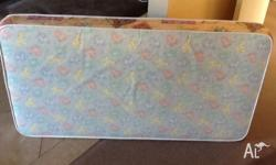 Used cot mattress. Still in great condition. Need to