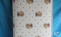 Inner spring cot mattress. 1300 x 690mm Good condition,