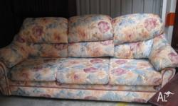 great floral 3 seater couch, would be one of the most