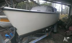 Court 6.5m on perfect roller trailer,carbon sails,4
