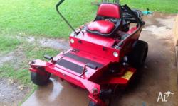 "Cox Z Cut 48"" zero turn mower for sale. Fabrictaed Deck"