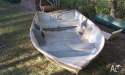 For sale is my old faithfull crabbing tinny with a 9`9